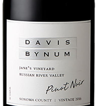Davis Bynum Bottle Jane