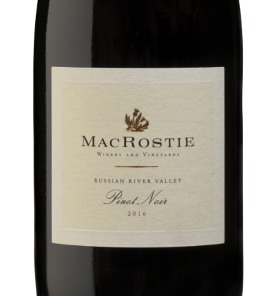 2016 Mac Rostie Russian River Valley Pinot Noir Crop