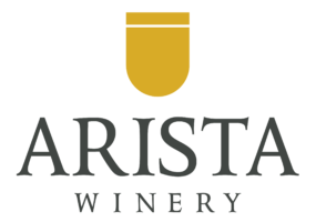 Arista Winery Logo Gold Grey