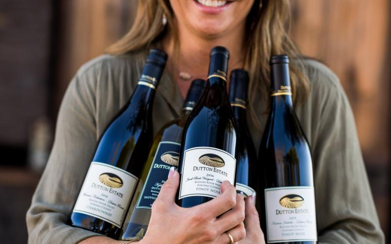 A Handful of Estate Russian River Valley Wines